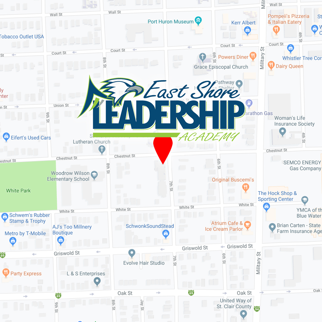 East Shore Leadership Academy Map