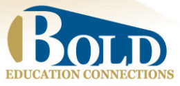 BOLD Education Connections Logo - Educational Service Provider