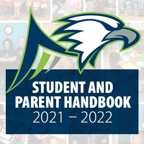 East Shore Leadership Academy 2021-2022 Schoolyear Student and Parent Handbook Cover